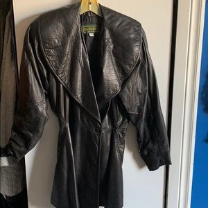 Vintage from the 80's Daniel leather jacket